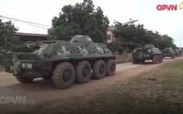 Ấn tượng quân sự Việt Nam tuần qua: Quân đoàn 2 chuyển trạng thái SSCĐ bằng xe cơ giới