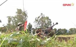 Trung đoàn 24, Sư đoàn 10 tăng cường huấn luyện các khẩu đội hỏa lực