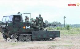 Việt Nam tích hợp cối 100 mm cho thiết giáp M113, đưa pháo cao xạ lên xe bánh xích M548