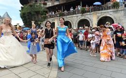 Tưng bừng carnival nghệ thuật quốc tế đầu tiên trên phố đi bộ Hà Nội