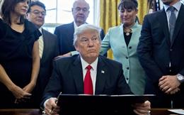Đang đi nghỉ, Trump lên Twitter chỉ trích gay gắt phán quyết chặn lệnh cấm nhập cư