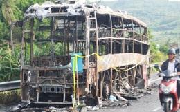 17 hành khách đang ngủ say, xe bất ngờ bốc cháy