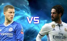 Chelsea có nên mua Isco, bán Hazard?