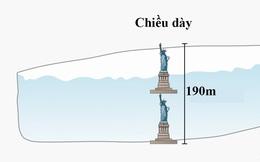 Tảng băng trôi lớn nhất trong lịch sử vừa đứt gãy nặng gấp 20 lần trọng lượng tàu Titanic