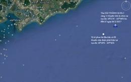 Chìm tàu 3 nghìn tấn ngoài biển Vũng Tàu, 9 thuyền viên mất tích