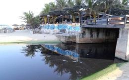 Đà Nẵng đình chỉ thi công khách sạn xả nước thải chui ra biển