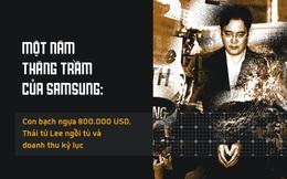 Một năm thăng trầm của Samsung: Con bạch ngựa 800.000 USD, Thái tử Lee ngồi tù và doanh thu kỷ lục