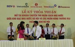 BIDV cùng Kho bạc Nhà nước phối hợp thu Ngân sách Nhà nước trên địa bàn Hà Nội