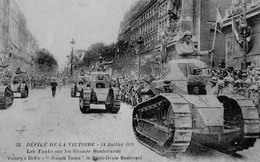 Ảnh hiếm: Pháp duyệt binh mừng chiến thắng Thế chiến I lớn chưa từng có