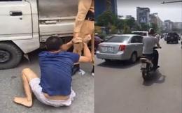 Hà Nội: CSGT truy đuổi xe ô tô vi phạm như phim hành động