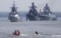 Hạm đội Baltic của Nga tập trận bất thường