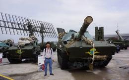 """Phóng viên Việt Nam """"lọt"""" vào giữa bãi tập kết hùng hậu của lực lượng lính dù Nga"""