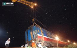 Hàng trăm người thức trắng đêm thông tuyến đường sắt sau tai nạn