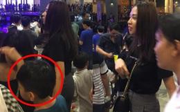 Bắt gặp Đàm Thu Trang đưa bé Subeo đi chơi Trung Thu