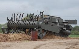 """""""Con cóc Churchill"""" - Xe tăng phá mìn FV3902"""