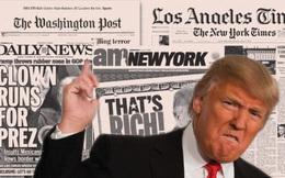 """""""Cơn bão truyền thông"""" xoay quanh Trump thực chất là một chiến lược công phu?"""
