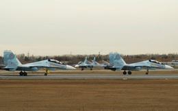 Phi đội tiêm kích đa năng Su-30SM mới tinh chuẩn bị đáp xuống sân bay Nội Bài?
