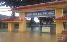 Thủy điện xả lũ, Quảng Nam, Đà Nẵng trắng xóa nước lũ