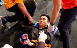 VĐV chủ nhà bị đánh ngất giành HCV, võ sĩ Việt Nam bị đánh gãy tay thì xử thua trận