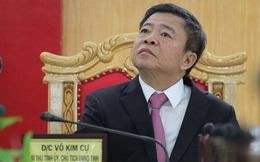 Cách chức nguyên Bí thư Tỉnh uỷ Hà Tĩnh đối với ông Võ Kim Cự