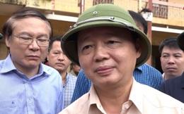 """Bộ trưởng Trần Hồng Hà chia sẻ từ rốn lũ Yên Bái về """"danh sách cán bộ chơi golf"""""""