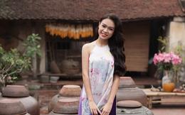 """Hình ảnh du xuân của """"cô gái vàng"""" Hoa hậu Việt Nam 2016"""