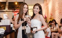 Siêu mẫu Tô Uyên Khánh Ngọc tới mừng Phan Hoàng Thu lên chức bà chủ