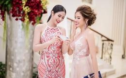 Phan Hoàng Thu đọ sắc với Hoa hậu Ngọc Hân tại sự kiện