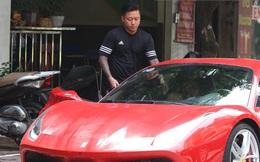 [Video hot] Tuấn Hưng phóng siêu xe Ferrari 15 tỷ gây chú ý trên phố