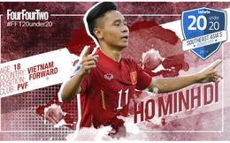 Four Four Two hết lời khen hai ngôi sao trong đội hình U19 Việt Nam