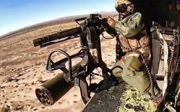 Xạ thủ trực thăng- công việc không dành cho những người sợ độ cao