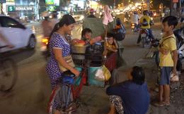 Người phụ nữ 24 tuổi đẻ 5 đứa con, sống bằng nghề nhặt rác, bán vé số giữa Sài Gòn