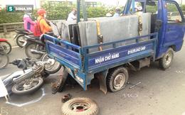 Tai nạn liên tiếp trên xa lộ Hà Nội, 2 người bị thương