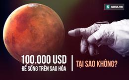 """Bài diễn thuyết """"điên rồ"""" của Elon Musk: 100.000 đô là có """"nhà"""" ở sao Hỏa, 7 năm nữa thôi!"""