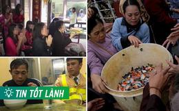 """TIN TỐT LÀNH ngày 10/2: """"Thực đơn nhân văn"""" của CSGT Hà Nội và điều tốt sau... án kỷ luật"""