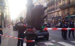 Nổ lớn bên ngoài tòa nhà quân sự ở thủ đô Paris