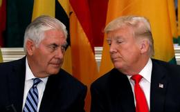 """Sau tin bị gọi là """"ngốc"""", ông Trump thách Ngoại trưởng Mỹ đấu IQ xem ai thông minh hơn"""