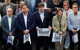 Tây Ban Nha ra lệnh bắt giam các lãnh đạo chính quyền Catalonia bị phế truất