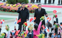"""Ông Tập Cận Bình gọi tổng thống Panama là """"anh hùng"""" khi cắt quan hệ với Đài Loan"""