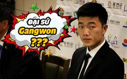 Chuyến thăm bất ngờ của Gangwon đến HAGL ngày mồng Một Tết