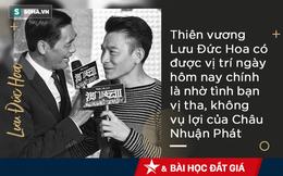Châu Nhuận Phát - Lưu Đức Hoa: Từ tình địch trở thành anh em, cả đời sống chết vì nhau