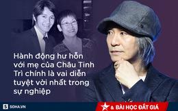 Mẹ Châu Tinh Trì phải ăn đùi gà dính đất cát và 30 năm sau, sự thật về lòng hiếu thảo mới được hé lộ