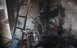 Sau tiếng cãi vã, đôi nam nữ bốc cháy trong phòng trọ ở miền Tây