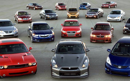 Ô tô nhập khẩu: Số lượng tăng cao kỷ lục nhưng giá trị lại giảm