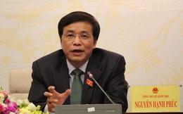 Tổng thư ký Quốc hội lý giải vì sao Luật Cảnh vệ vừa thông qua đã phải đính chính