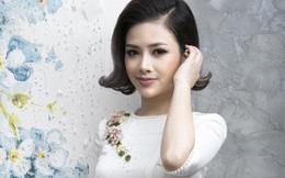 Dương Hoàng Yến xinh đẹp trong trang phục áo dài