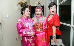 Tạo hình hài hước của Thúy Nga, Tự Long, Xuân Bắc trong Gala Cười 2017