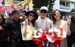 Dàn sao TVB Huỳnh Hạo Nhiên, Huỳnh Trí Văn, Trần Khải Lâm vừa đến Việt Nam