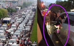 Bức ảnh khủng khiếp giữa phố Hà Nội và câu hỏi rất khó trả lời
