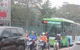 Hà Nội sẽ phạt cả xe buýt thường đi vào làn đường buýt nhanh qua camera giao thông